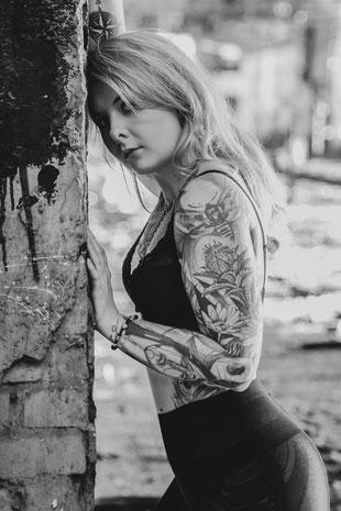 Portraitfotografie – Caro – Tattooshoot