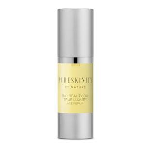 Pureskinity Bio Beauty Oil Luxusöl Kaktusfeigenkernöl Arganöl Vitamine Antioxidantien reife Haut trockene Haut alle Hauttypen antiaging Antifalten regenerierend feuchtigkeitsspendend