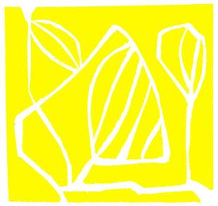linoleum originale di Roberto Dossi (misura 110x114 mm)