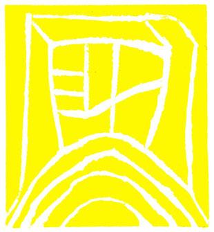 linoleum originale di Roberto Dossi (misura 94x85 mm)
