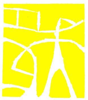 linoleum originale di Roberto Dossi (misura 78x68 mm)