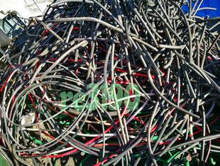茨城県 水戸市 電線買取り 電線屑、銅線買取り