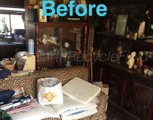 笠間市家の片付け、ごみ、不用品