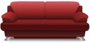 常陸太田市でソファーの家具処分、引取り