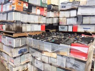 茨城県 笠間市 廃バッテリー、自動車バッテリーの処分、買取り