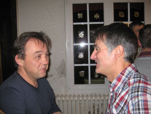 Didier et Francisco -Initiateur