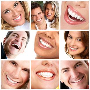 Weissere Zähne durch Zahnaufhellung (Bleaching) beim Zahnarzt: Schadet den Zähnen nicht und schützt sie vor Karies. In Ihrer Nähe: Augsburg-Lechhausen
