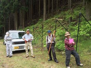 林業補助活動