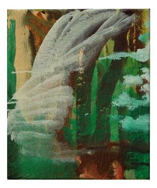 Ohne Titel, Öl-Lw, 25x30 cm, 2013
