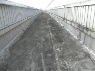 シート防水改修工事:工事前