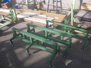 長尺板用作業台:工事後