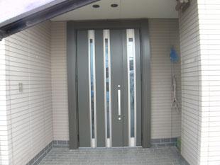 リシェント玄関ドア:工事後