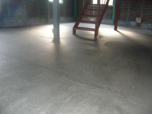 土間コンクリート新設:工事後