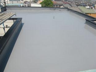 屋上防水改修工事:工事後