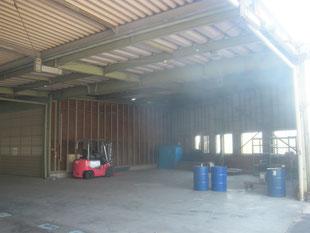 壁及び鋼製引戸新設工事:工事前
