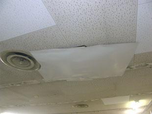 リフト破損の内装修理:工事前