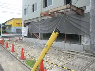 倉庫棟新築工事:工事前