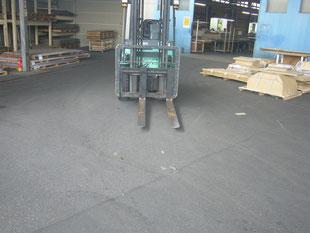 半たわみ性舗装:工事前
