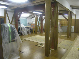 木造建物内部耐震補強:工事後