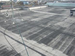 屋上防水改修工事:工事前