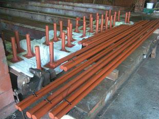 パイプフェンス工場製作:工事後
