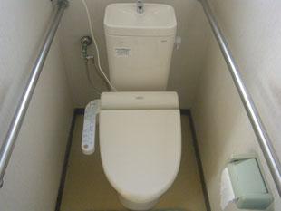 トイレ取替工事:工事後