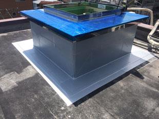 屋上昇降設備新設工事:工事後