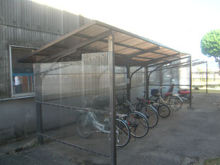 サイクルポート改修工事:工事後