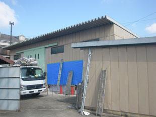 倉庫棟の改修工事:工事前