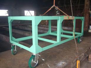 長尺台車:工事後