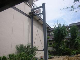 木造建物外部耐震補強:工事後