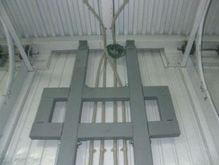 電動オペレーター鉄骨工事:工事後