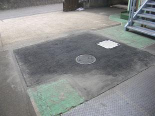 ピット及び舗装改修工事:工事後