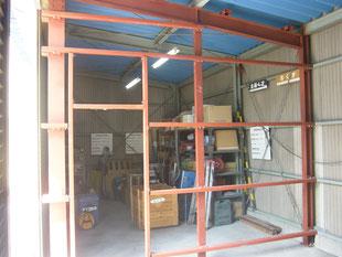 倉庫改修工事:工事後