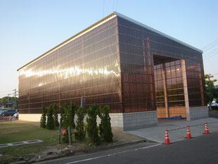 倉庫新築工事:工事後