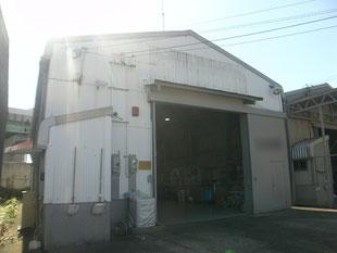 スレート工場塗装工事:工事前