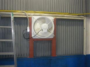 換気扇増設工事:工事後