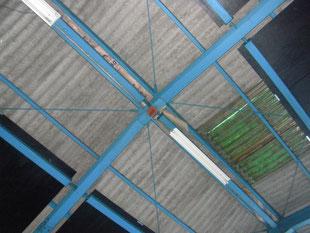 スレート屋根葺き替え:工事前
