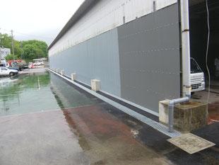 雨水排水対策工事:工事後