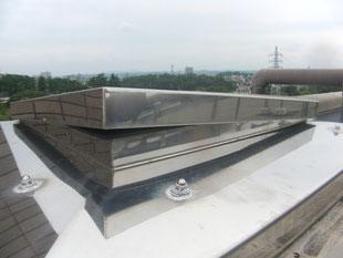 屋上ハッチ不具合補修:工事前
