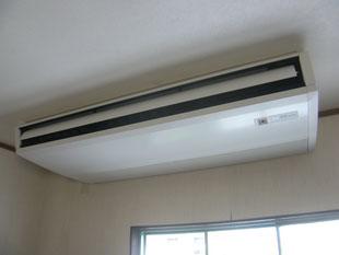 食堂エアコン改修工事:工事後