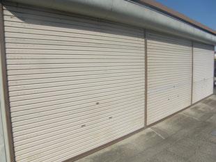大型ガレージ塗装工事:工事前