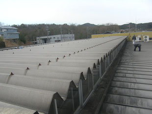 雨漏り防止対策工事:工事前