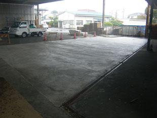 半たわみ性舗装:工事後