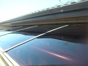 テラス屋根張替え工事:工事後