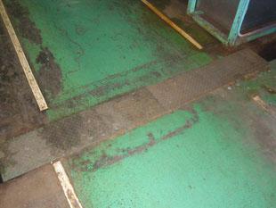 通路及び溝蓋改修工事:工事前