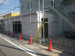 倉庫棟新築工事:工事後