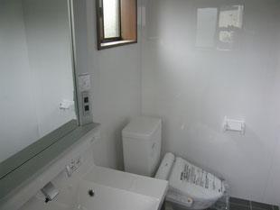 トイレ新設工事:工事後