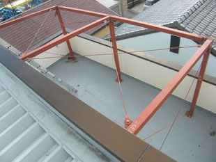 太陽光パネル架台:工事後