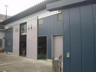 倉庫棟の改修工事:工事後
